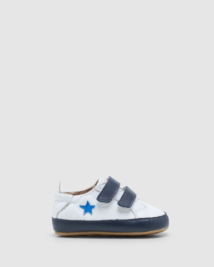 Old Soles Star Markert Flats White/Navy