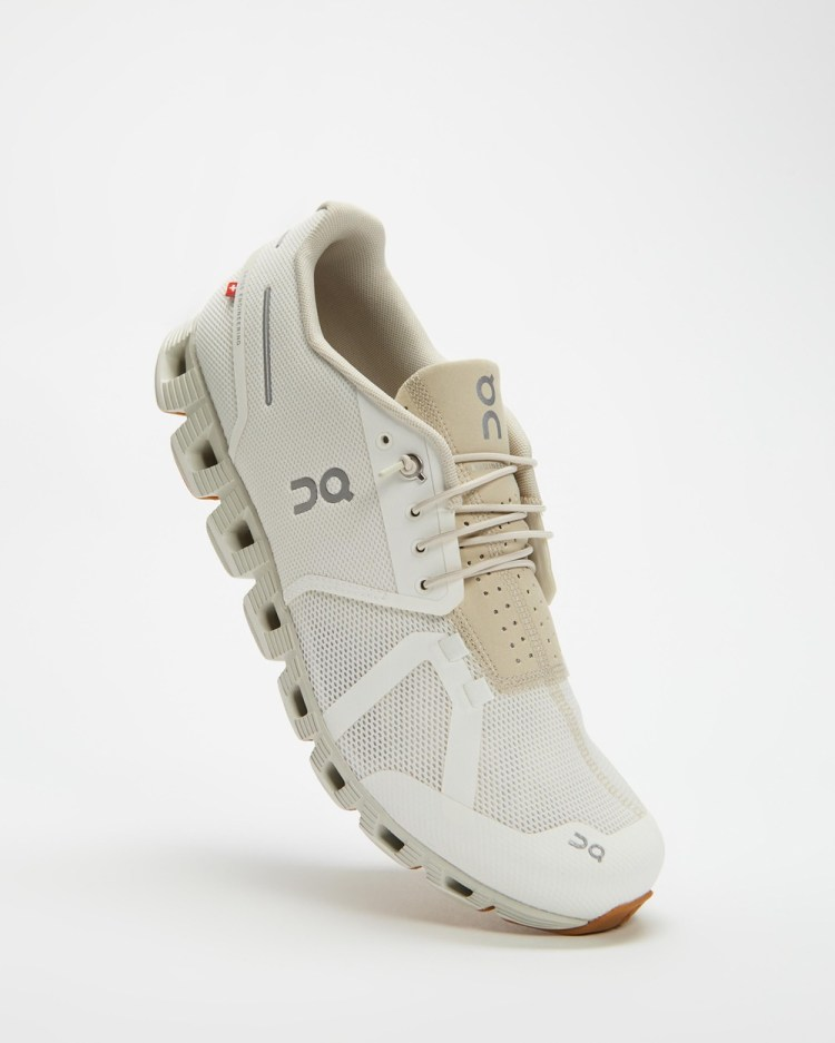 On Running Cloud Men's Performance Shoes White Sand
