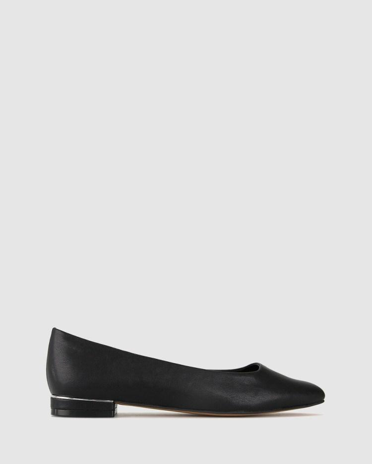 Betts Stevie Ballet Flats Casual Shoes Black