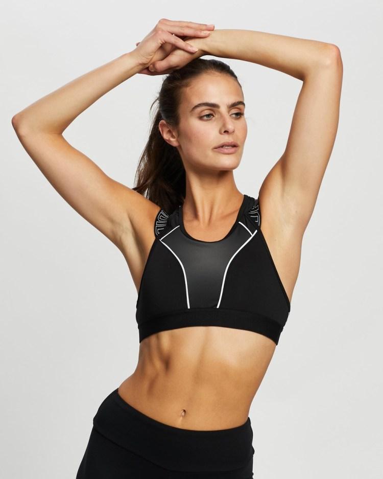 adidas Performance Dont Rest Sport Hack Bra Crop Tops Black