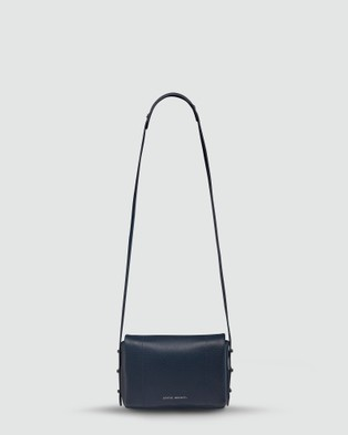 Status Anxiety - Succumb Cross Body Bag   Navy Blue - Bags (Navy Blue ) Succumb Cross Body Bag - Navy Blue