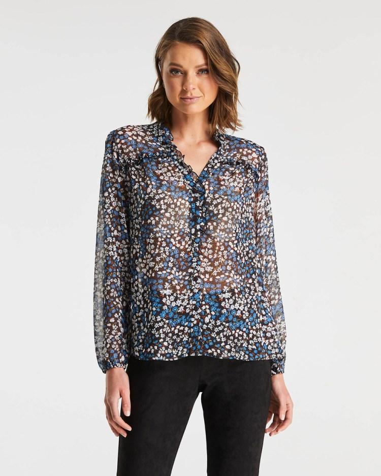 Stella Tulip Fields Shirt Tops Print
