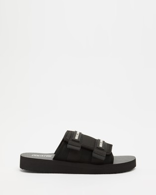Versace Jeans Couture Slip On Sports Sandals Nero