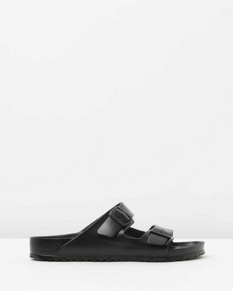Birkenstock Arizona EVA Mens Casual Shoes Black Rubber