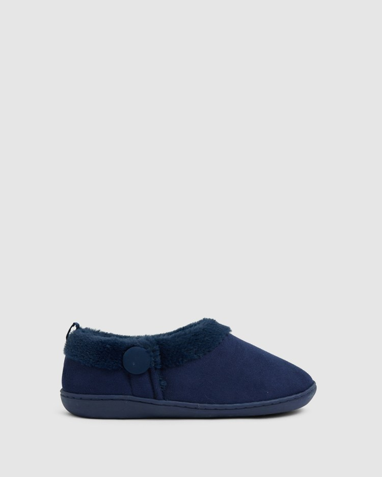 Easy Steps Paddy Slippers & Accessories Navy