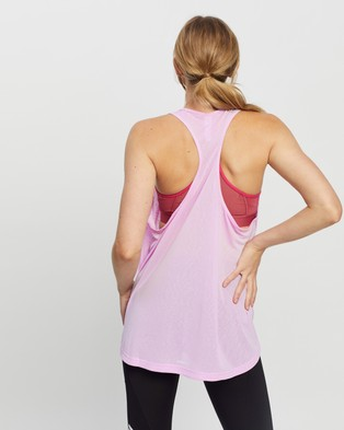 adidas Performance Designed 2 Move Aeroready Dance Tank Top Muscle Tops Clear Lilac & White