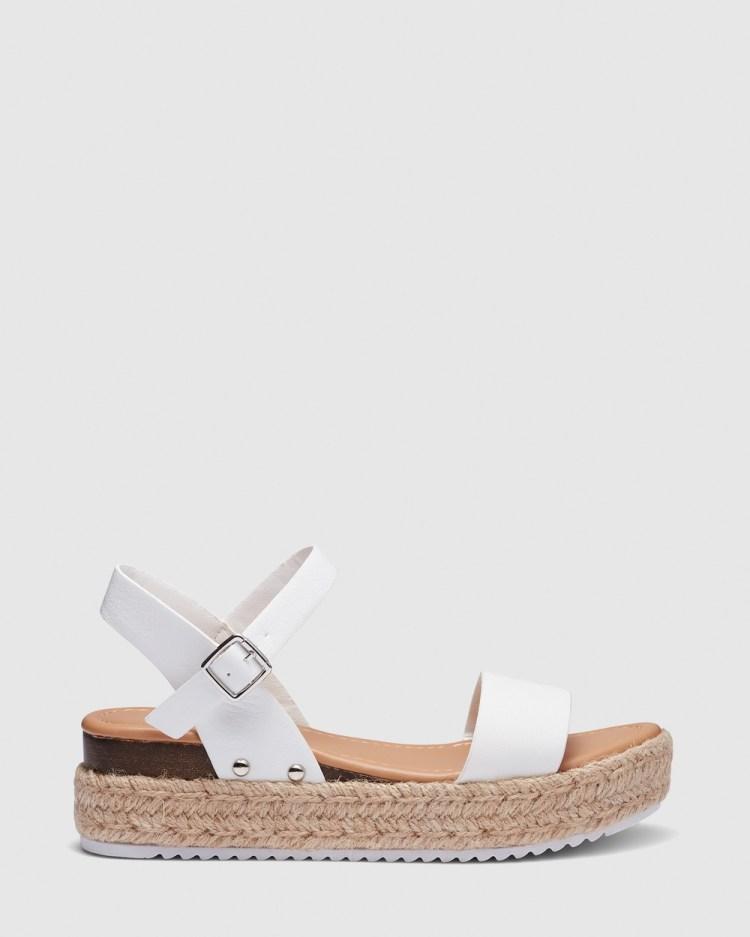 Novo Samba Sandals White