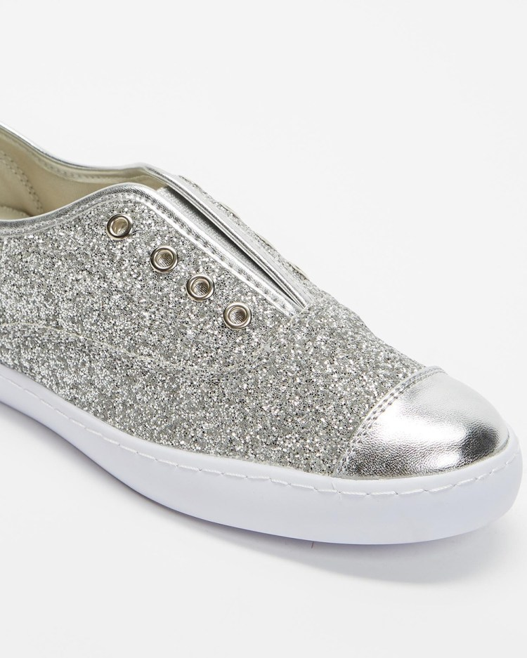 Holster Valencia Casual Shoes Silver Glitter
