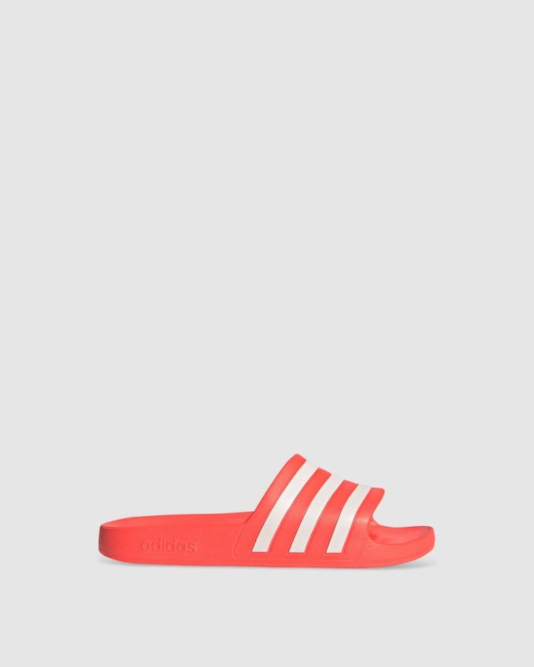 adidas Performance Adilette Aqua Slides Sandals Orange