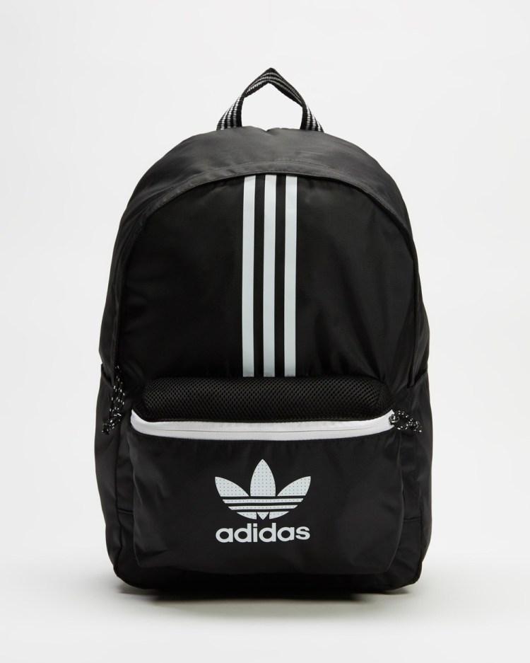 adidas Originals Adicolor Classic Small Backpack Backpacks Black & White