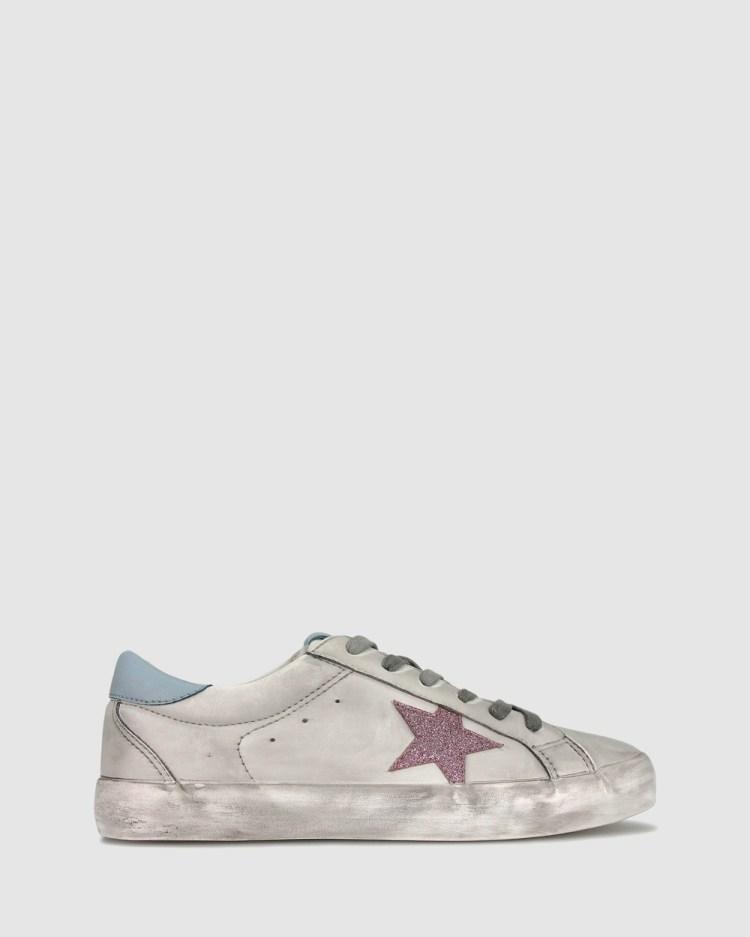 Betts Flight Fashion Sneakers Lifestyle White/Blue
