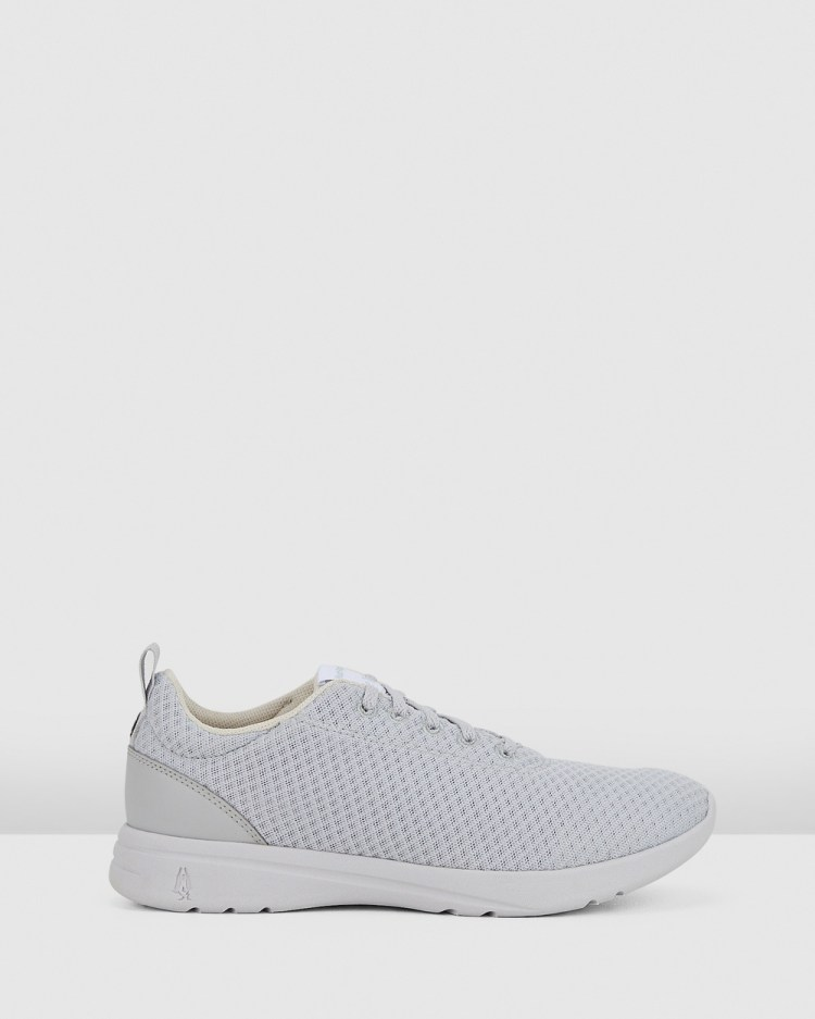 Hush Puppies The Good Laceup W Sneakers Vapor Grey Textile