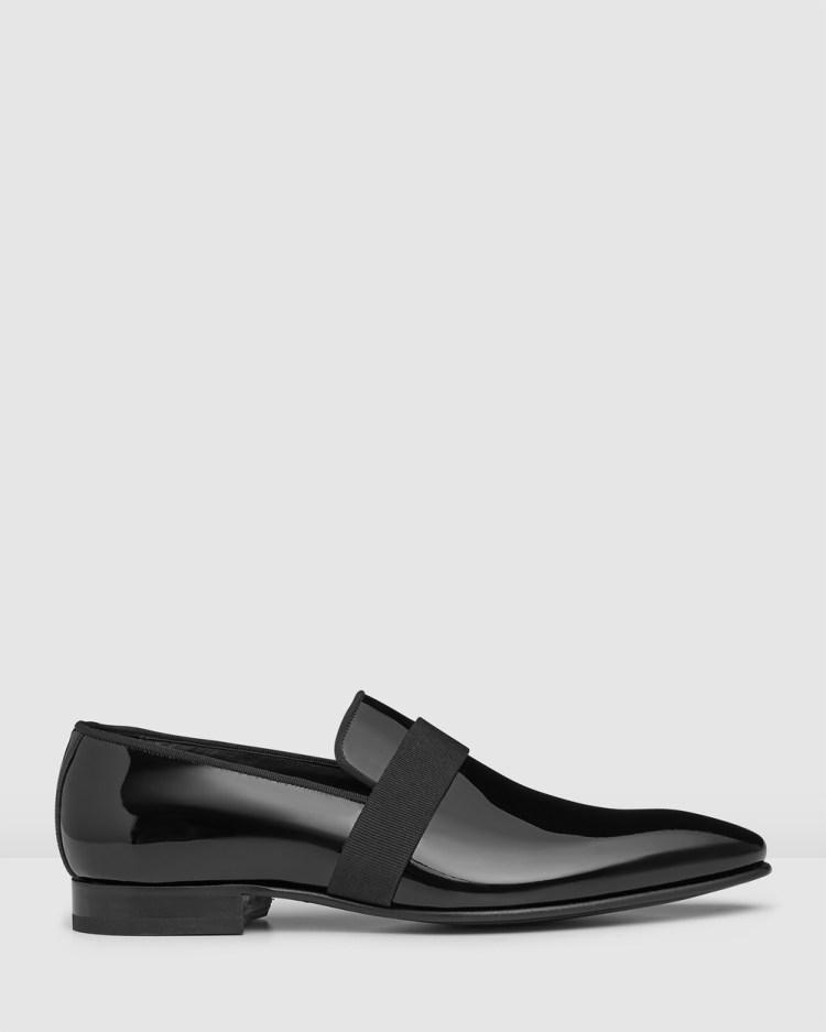 Aquila Ascott Loafers Flats Black