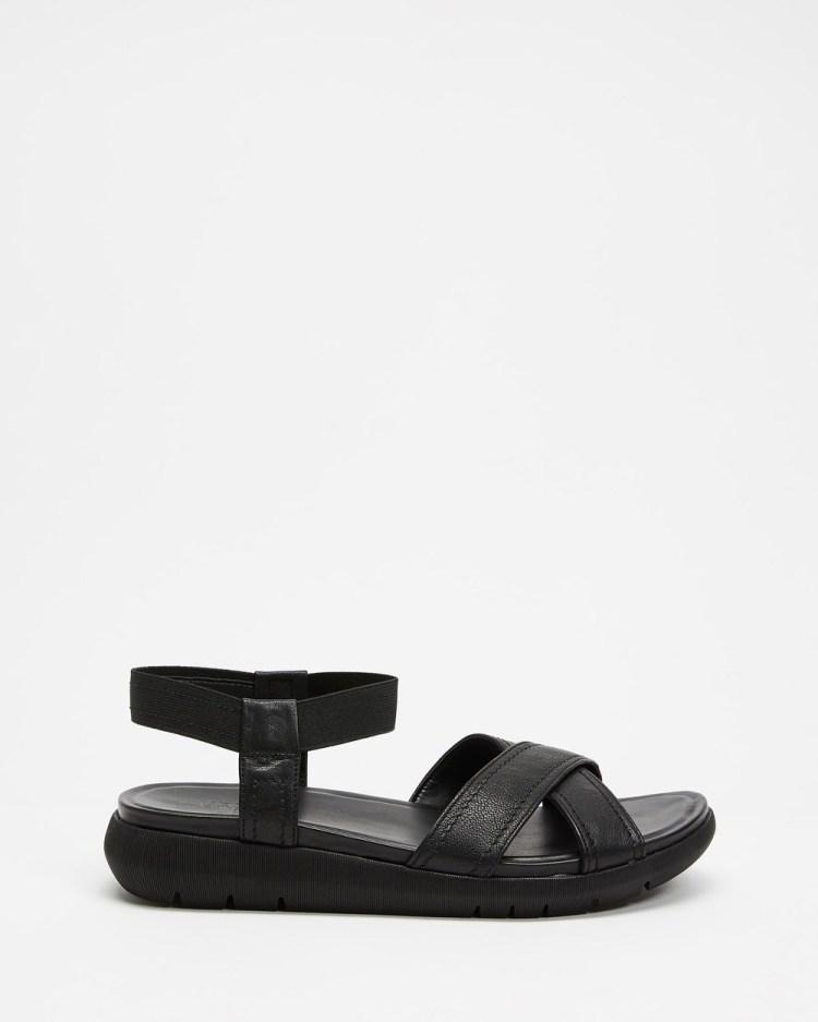 Naturalizer Lily Ankle Strap Sandal Sandals Black