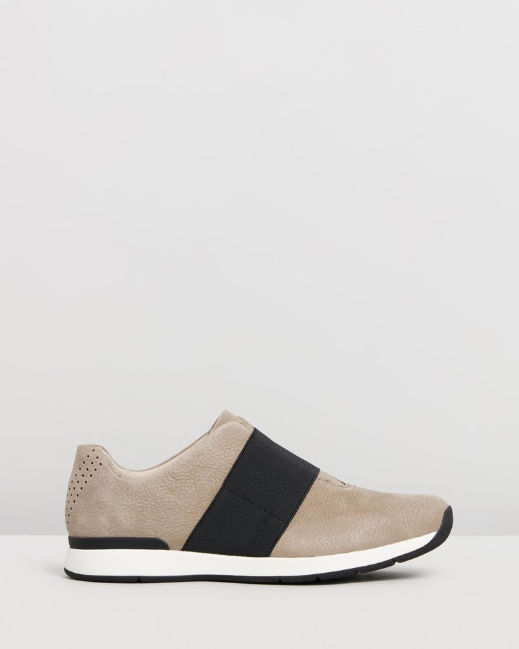 Vionic Codie Casual Sneakers Slip-On Taupe