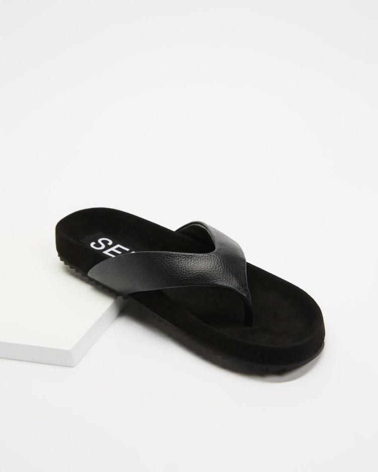 Senso Dean II Sandals Ebony