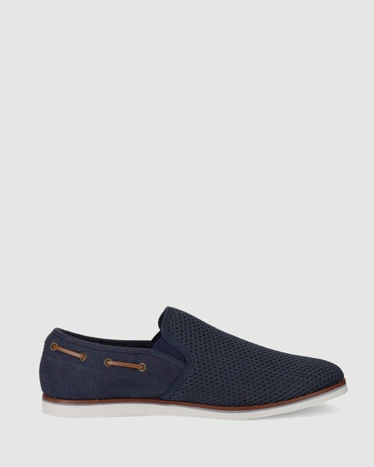 Wild Rhino Milan Dress Shoes Navy