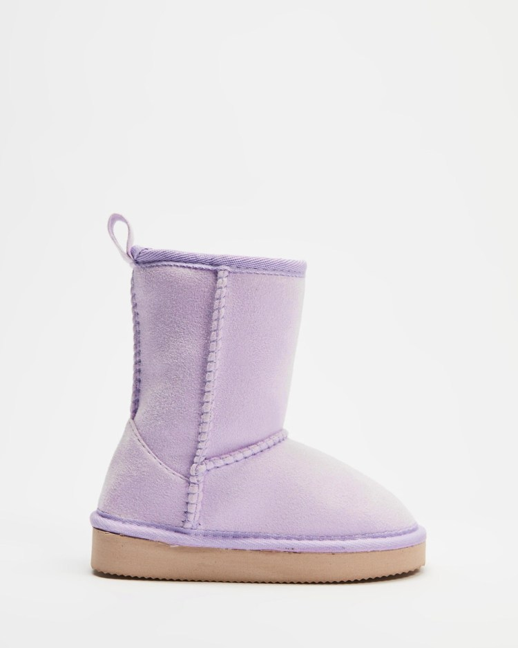 Cotton On Kids Classic Homeboots Teens Slippers & Accessories Pale Violet Kids-Teens