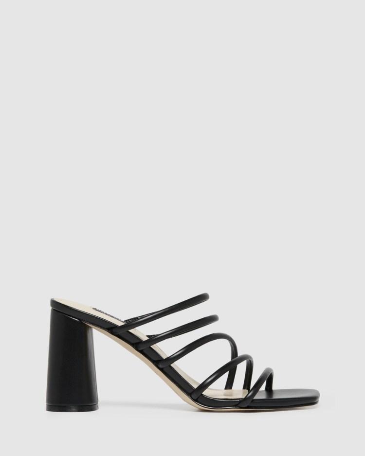 Nine West Girlie Sandals BLACK