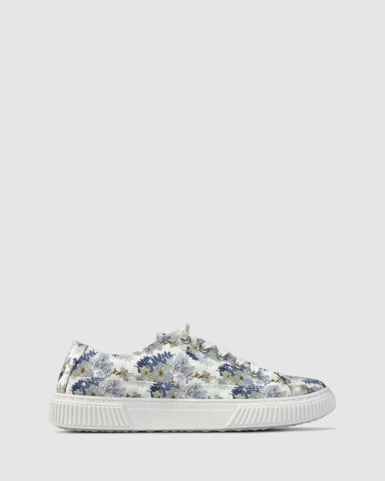 Zeroe Aster Slip On Sneaker Casual Shoes White