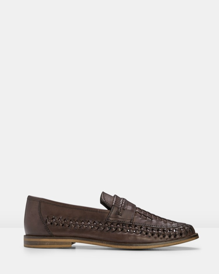 AQ by Aquila Tulsa Loafers Casual Shoes Chocolate