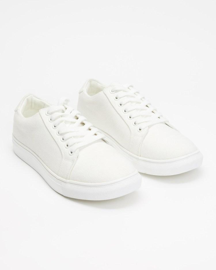 Staple Superior Classic Canvas Sneakers White