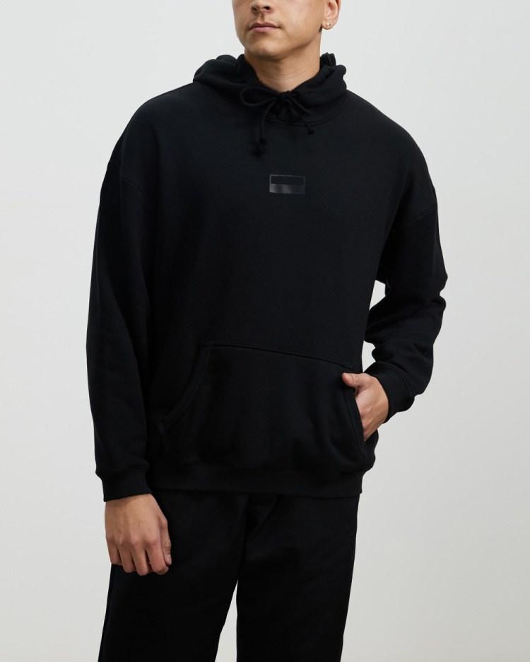adidas Originals R.Y.V. Loose Fit Hoodie Hoodies Black