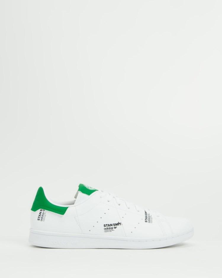 adidas Originals Stan Smith Mens Lifestyle Sneakers White & Green