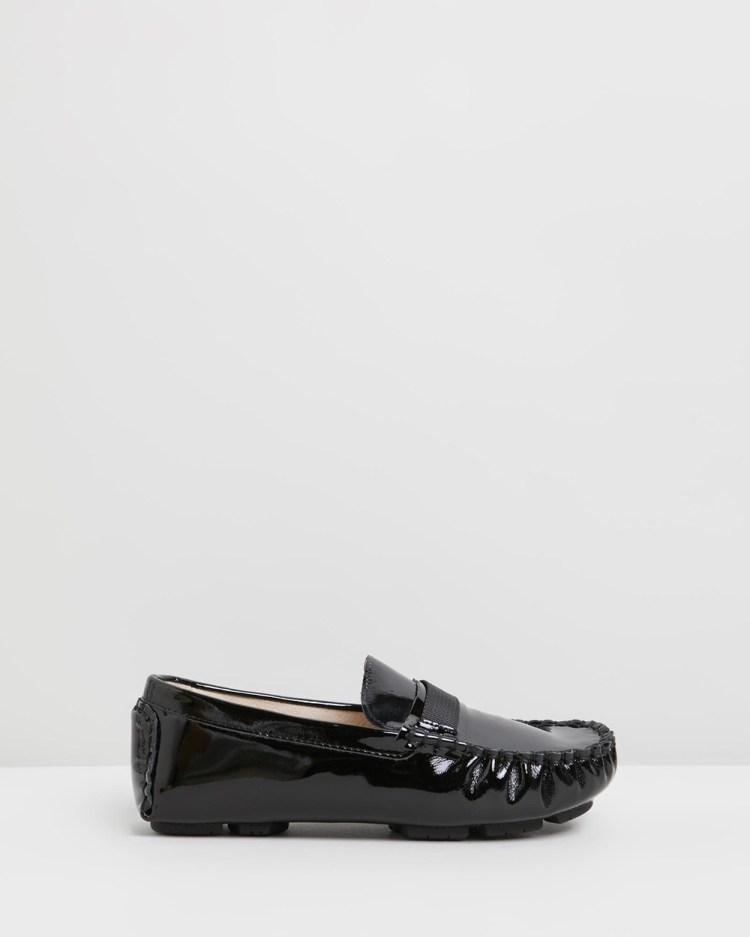 Oscars For Kids Sorento Loafers Teens Dress Shoes Black Kids-Teens