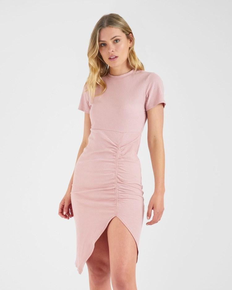 ids Azure Dress Dresses Blush