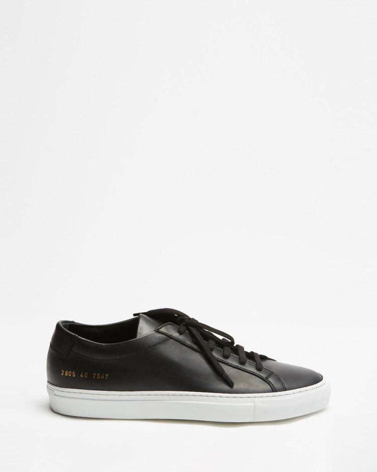 Common Projects Original Achilles Low Women's Sneakers Black