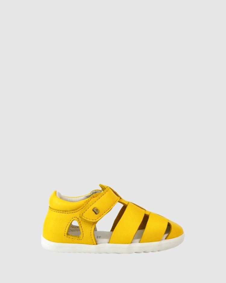 Bobux Step Up QD Tidal Sandal Sandals Yellow