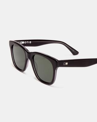 Otis - Lost & Found - Sunglasses (Satin Black Clear) Lost & Found