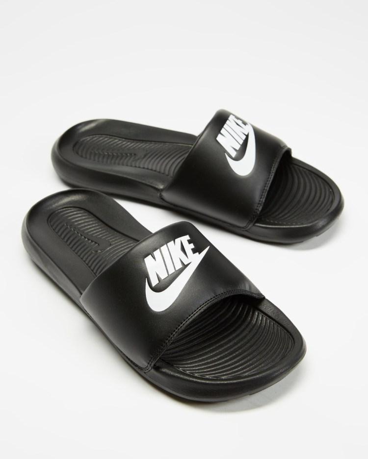 Nike Victori One Slide Women's Slides Black & White