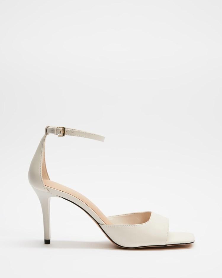 ALDO Asteama Heels White