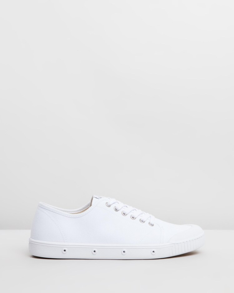 Spring Court G2 Organic Canvas Mens Sneakers White
