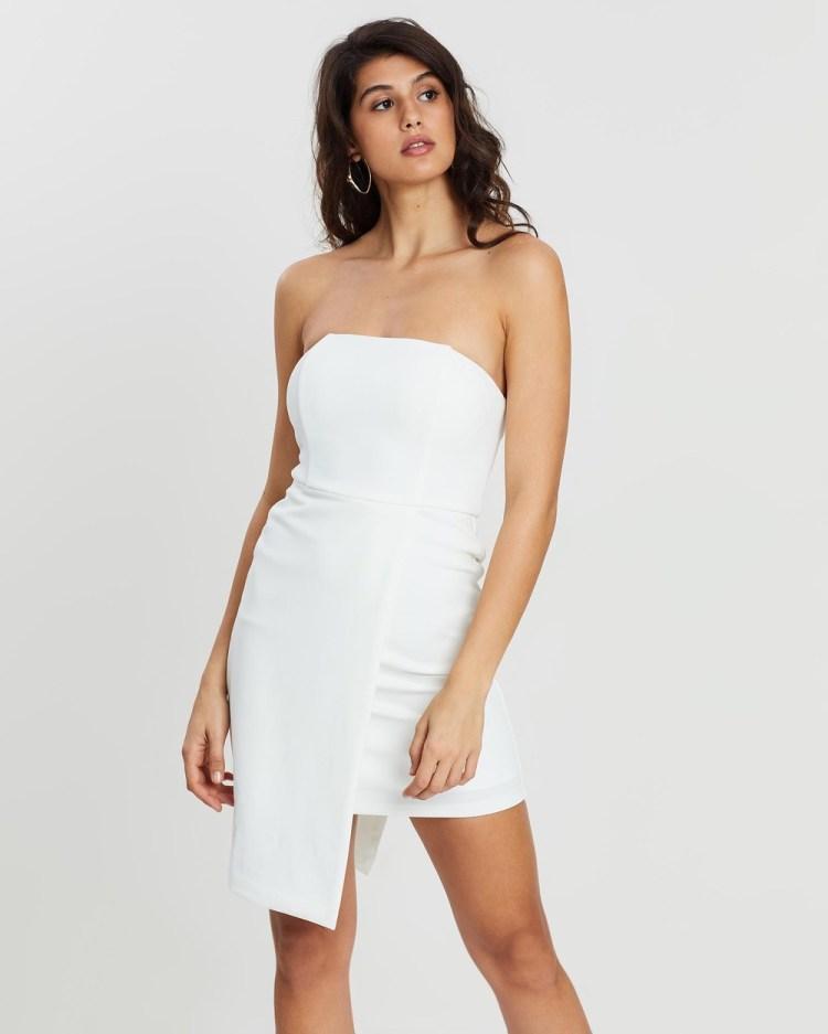 Loreta Malibu Dress Bodycon Dresses White