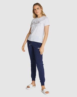 Superdry - VL MICRO STRIPE ENTRY TEE - T-Shirts (Couture White Multi Stripe) VL MICRO STRIPE ENTRY TEE