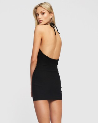 Lioness - Heavenly Sent Mini Dress - Bodycon Dresses (Black) Heavenly Sent Mini Dress