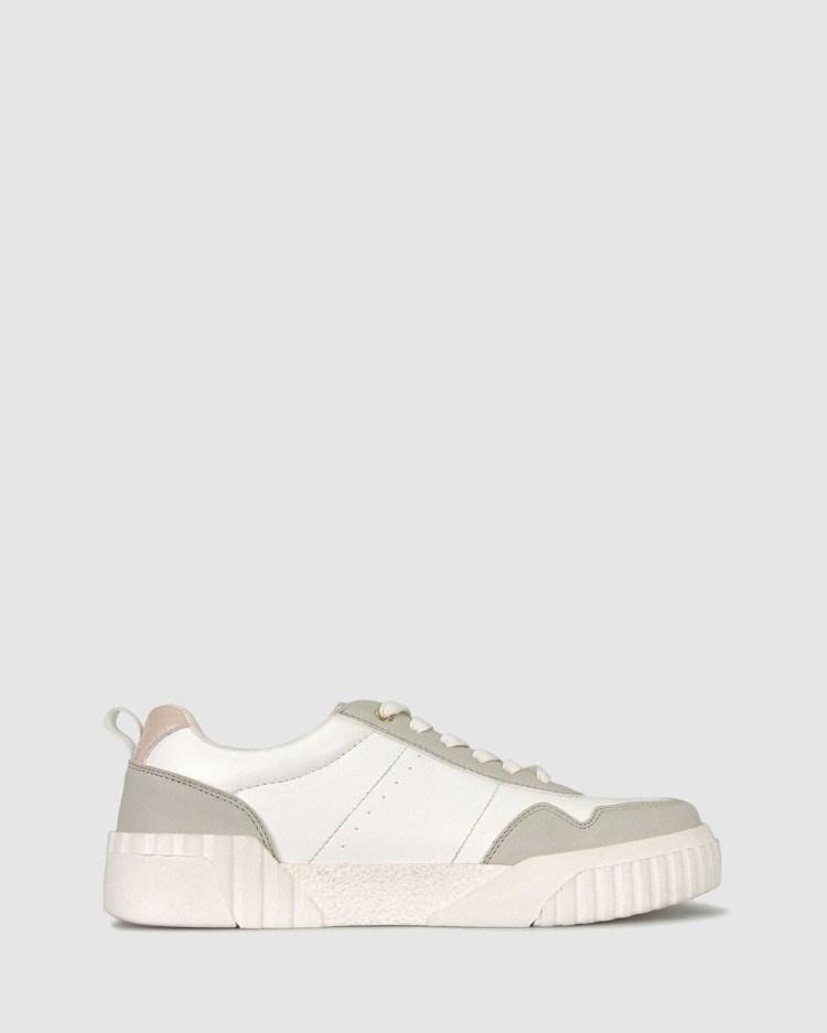 Betts Doom Platform Sneakers Lifestyle White
