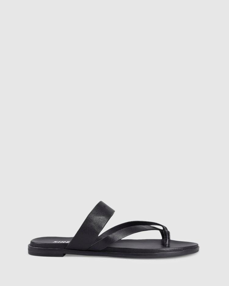 Siren Tuesday Sandals Black