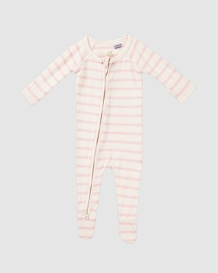 Boody - Everything You Need Baby Gift Set (3 items) - Wraps & Blankets (Rose/Rose Stripe) Everything You Need Baby Gift Set (3 items)