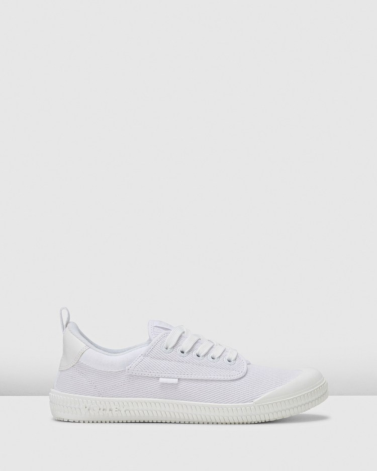 Volley Heritage Low Top Sneakers White/White