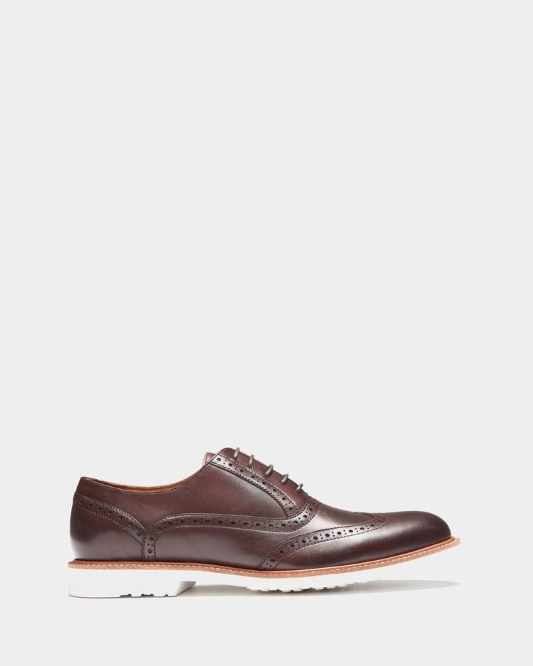 3 Wise Men The Lane Dress Shoes Brown