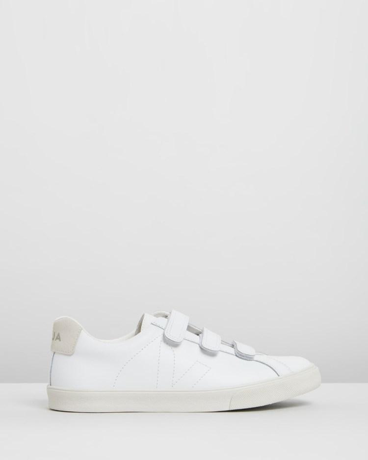 Veja ESPLAR LEATHER 3 LOCK Sneakers Extra White Pierre Leather 3-LOCK