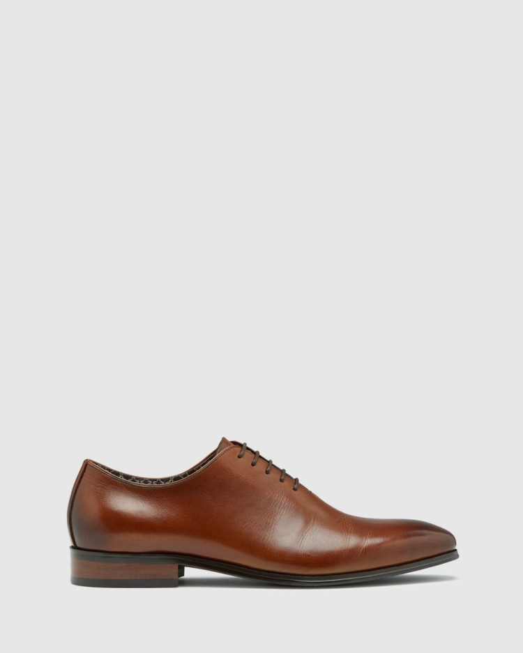 Oxford Clarence Dress Shoe Shoes Brown