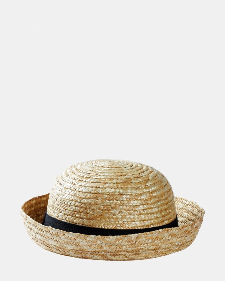 Acorn Kids Annie Boater Hats Natural