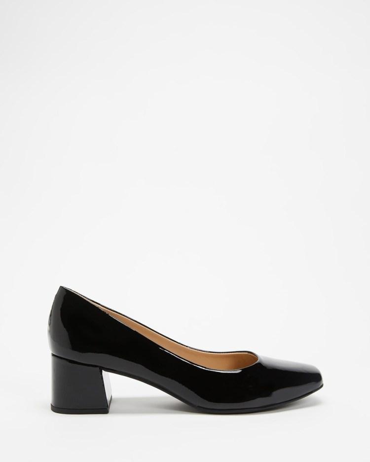 Nina Armando Katya Mid-low heels Verniz Preto