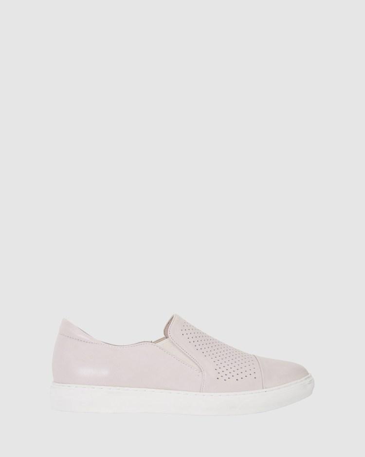 Jane Debster Celina Slip-On Sneakers TAUPE