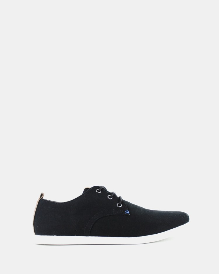 Wild Rhino Dust Canvas Shoes Sneakers Black